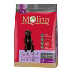Molina корм для взрослых собак крупных пород «Adult Maxi»