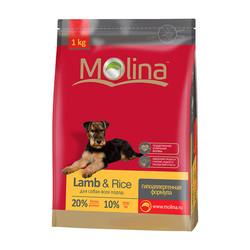Molina гипоаллергенный корм для всех пород «Adult Lamb & Rice All Breed»