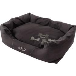 """Rogz Spice Podz Лежак с бортиком и двусторонней подушкой """"Кофейные косточки"""", коричневый"""