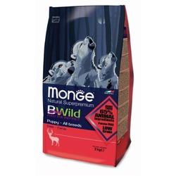 Monge Bwild Dog Deer для щенков всех пород с олениной, 2 кг