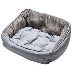 Rogz Luna Podz мягкий лежак с двусторонней подушкой, серый