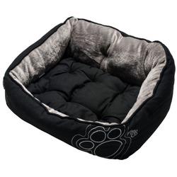 Rogz Luna Podz мягкий лежак с двусторонней подушкой, черный