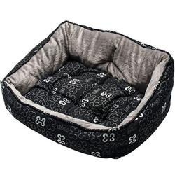 Rogz Trendy Podz мягкий лежак с двусторонней подушкой, черный
