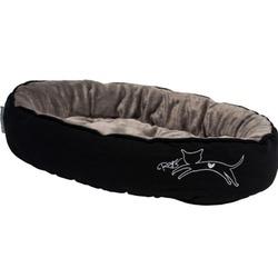 Rogz Snug Podz мягкий лежак с двусторонней подушкой, черный