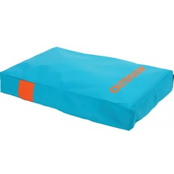 "Zolux матрас со съемным чехлом ""Outdoor"", бирюзовый, размер 100х80х13 см, арт. 409321T/O"