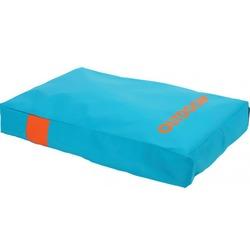 "Zolux матрас со съемным чехлом ""Outdoor"", бирюзовый, размер 110х90х14 см, арт. 409322T/O"