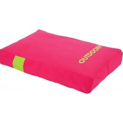 """Zolux матрас со съемным чехлом """"Outdoor"""", розовый, размер 110х90х14 см, арт. 409322R/V"""