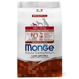 Monge Dog Speciality Mini корм для щенков мелких пород ягненок с рисом и картофелем