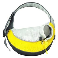 Crazy Paws Слинг для собак Sport Sling , цвет желтый, размер 47х19х34 см.