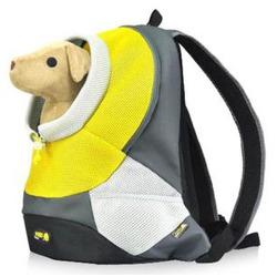 Crazy Paws Pюкзак для перевозки собак Sport De Lux Large, цвет желтый, размер 41,5х17,5х43 см, Арт.: DPETC022-YW