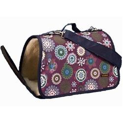 """Dogman сумка-переноска """"Лира"""" теплая с мехом, цвет микс"""