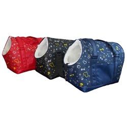 Dogman сумка-переноска теплая с мехом Lucky с отверстием для головы