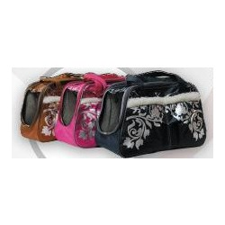 Dogman сумка-переноска теплая с мехом 36х19х24, с сеткой