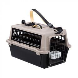 Ferplast ATLAS 10 TRENDY PLUS Переноска для кошек и мелких собак, цвет черный, 48х32,5х29 см