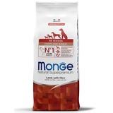 Monge Dog Speciality корм для щенков всех пород ягненок с рисом и картофелем