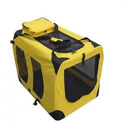 Gigwi сумка-переноска для собак складная с металлическим каркасом, размер 70*52*52 см
