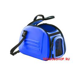 Hunter сумка-переноска складная, с жесткими стенками, синяя