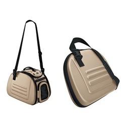 Hunter сумка-переноска складная, с жесткими стенками, бежевая
