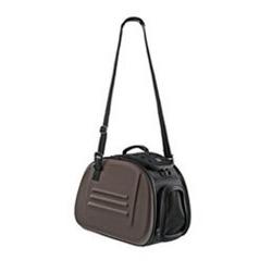 Hunter сумка-переноска складная, с жесткими стенками, коричневая