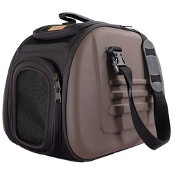 Ibiyaya складная сумка-переноска с жесткими стенками, коричневая (Ибияйя)