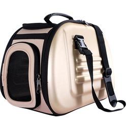 Ibiyaya складная сумка-переноска с жесткими стенками, бежевая (Ибияйя)