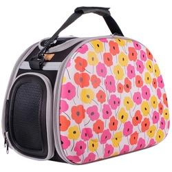 """Ibiyaya складная сумка-переноска с жесткими стенками """"Цветущие маки"""" (Ибияйя)"""