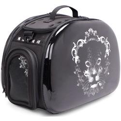 Ibiyaya складная сумка-переноска, Леопард, черная (Ибияйя)