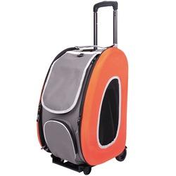 Ibiyaya многофункциональная сумка-тележка, оранжевая (Ибияйя) EVA Pet Carrier/ Pet Wheeled Carrier – Orange