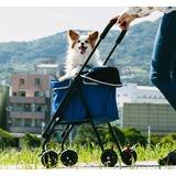 Ibiyaya коляска для собак Astro Go Lite Pet Stroller – Grungy Blue (Ибияйя)
