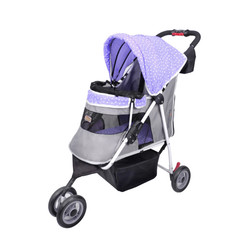 Ibiyaya коляска для собак Starry Sky Pet Stroller – Lavender ( New I-Cute Pet Buggy), лаванда (Ибияйя)
