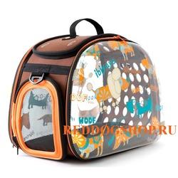 Ibiyaya складная сумка-переноска, прозрачная Dogs (Ибияйя)