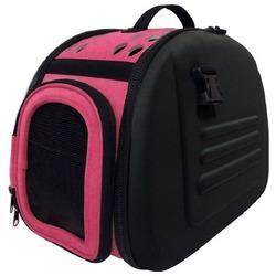 Ibiyaya складная сумка-переноска, Венеция, черная с розовым (Ибияйя)