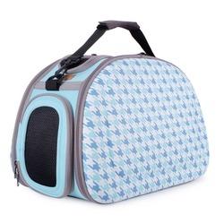Ibiyaya складная сумка-переноска с жесткими стенками, голубая (Ибияйя)