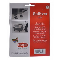 Stefanplast колеса для переносок Gulliver 1,2,3