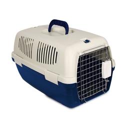 Triol пластиковая переноска для кошек и собак, размер 48х29х28 см