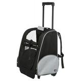 Trixie сумка-переноска на колесах транспортная, цвет черно-серый, арт. 2880