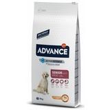Advance Maxi Senior для пожилых собак крупных пород с курицей и рисом, 15 кг
