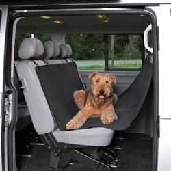 Trixie подстилка-гамак для собак в автомобиль, цвет черный, 145 х 215 см