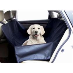 Fauna International подстилка-гамак для собак в автомобиль, с защитой дверей, цвет черный, размер 160х130 см