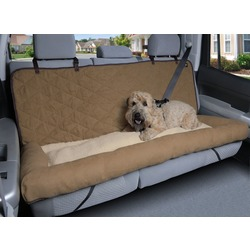 Solvit Products & PetSafe Большой лежак-чехол в автомобиль на заднее сиденье