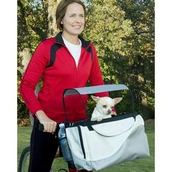 Solvit 2 в 1 велокорзина-сумка для перевозки собак Deluxe Tagalong Pet Bicycle Basket