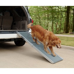Solvit Пандус для собак Deluxe Telescoping Pet Ramp, 2 сложения, 99-183 см х 43 см х 10 см, для собак весом до 180кг