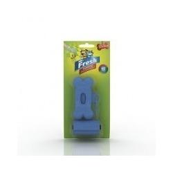 Mr. Fresh набор для уборки за собакой на улице: брелок-держатель+пакеты (40 шт.)