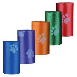 Trixie Пакеты для уборки за собаками 4 рулона по 20 штук, размер М, цветные, для всех диспенсеров, арт.22840