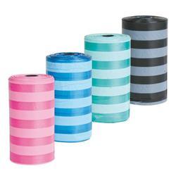 Trixie Пакеты для уборки за собаками 8 рулонов по 20 штук, цветные, для всех диспенсеров, арт.22844