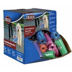 Trixie Пакеты для уборки за собаками, 70 рулонов по 20 шт, цветные, для всех диспенсеров, арт.22843