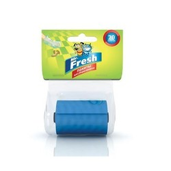 Mr. Fresh пакеты для уборки за собакой, 20 шт.