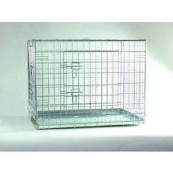 Клетка Beeztees для собак, 2 двери, металлический поддон