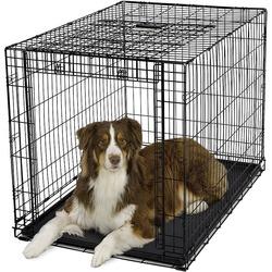 Midwest Crate Ovation, клетка для собак с торцевой вертикально-откидной дверью, пластиковый поддон