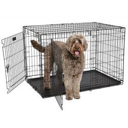 Midwest Contour , клетка для собак, 2 двери, пластиковый поддон